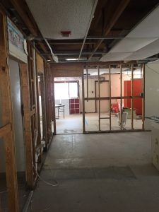 Feldtech under construction